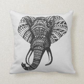 Stammes- Elefant-Kissen Zierkissen