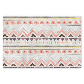 Stammes-, ethnisch, Boho, Western, gebürtiges Seidenpapier