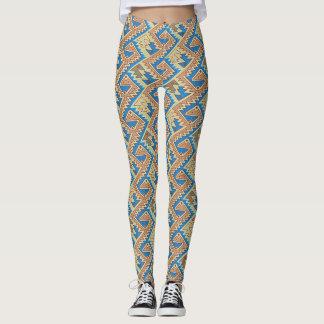 Stammes- geometrisches peruanisches hübsches leggings