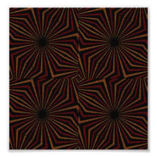 Stammes- geometrisches Vintages Muster Photos