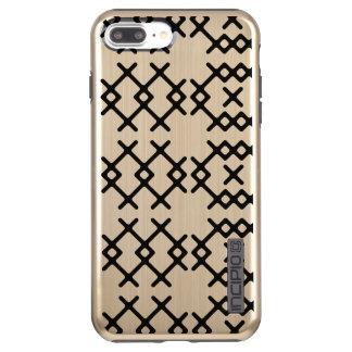 Stammes- Goldnomade-geometrische Formen Incipio DualPro Shine iPhone 8 Plus/7 Plus Hülle