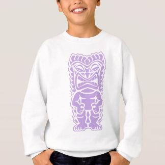Stammes- Gott des heftigen tiki Sweatshirt