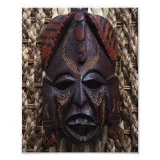 Stammes- hölzernes geschnitztes rituelles afrikani fotografie