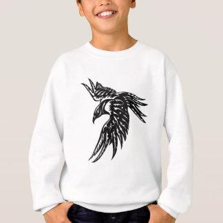 Stammes- Krähe Sweatshirt