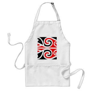 Stammes- Kunst der Maori- Entwürfe für Sie Schürze