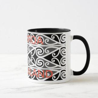 Stammes- Kunst der Maori- Entwürfe für Sie Tasse