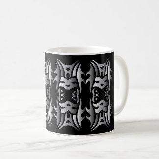 Stammes mug 11 Schar black over Kaffeetasse