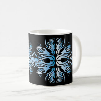 Stammes mug 6 blue tasse