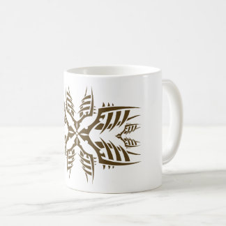 Stammes mug 7 gold tasse