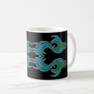 Stammes mug 8 colors black 4 over kaffeetasse