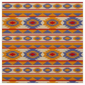 Stammes- Muster des südwestlichen Navajos Stoff