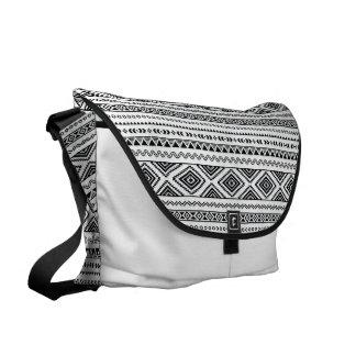 Stammes- Muster Kurier Taschen