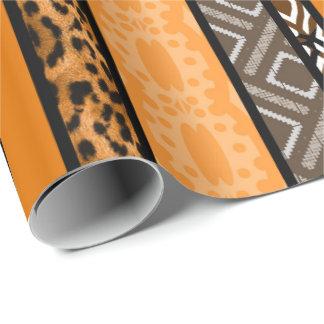 Stammes- Muster-Mischung Geschenkpapier