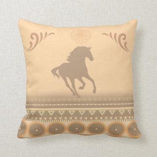 Stammes- Pferd Kissen