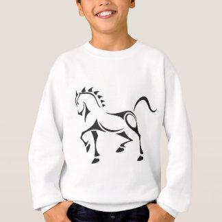 Stammes-Pferd Sweatshirt