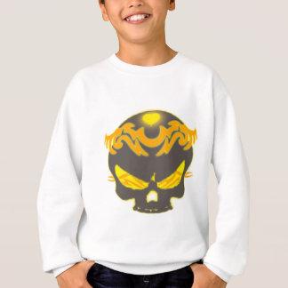 Stammes- Schädel Sweatshirt