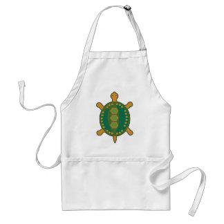 Stammes- Schildkröte Schürze