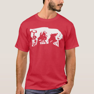 Stammes- Scythian Bär T-Shirt