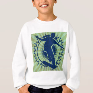 Stammes- Skateboardfahrer Sweatshirt