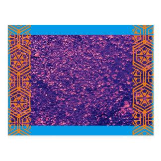 Stammes- Stein Postkarte