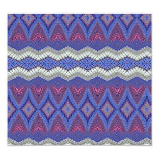 Stammes- Teppichmuster Fotodrucke