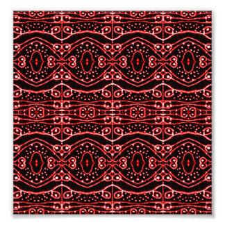 Stammes- verziertes geometrisches Muster Kunstphotos