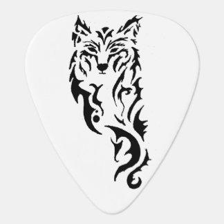 Stammes- Wolf Plektrum