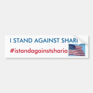 Stand gegen Sharia Aufkleber Autoaufkleber