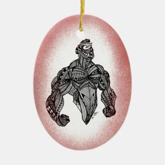 Stand hoch keramik ornament