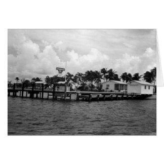 Standardöl-Docks, Marco Island, Florida, 1961 Karte