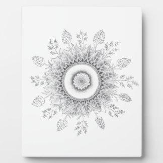 Ständig wachsende Mandala Fotoplatte