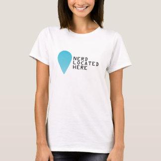 Standort eines Nerds T-Shirt