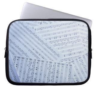 Stapel der Noten Laptop Sleeve Schutzhüllen