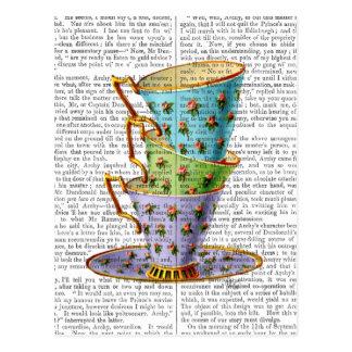 Stapel von drei Vintagen Teacups Postkarte