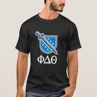 Staplungslogo und Buchstaben - Weiß T-Shirt