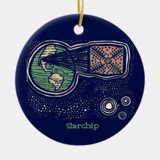 Starchip Keramik Ornament