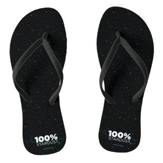 Stardust 100% flip flops