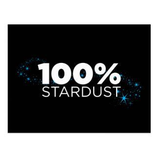Stardust 100% postkarte