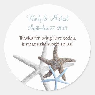 Starfish-Ansammlungs-runde Gastgeschenk
