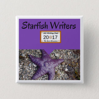 Starfish-Button! Quadratischer Button 5,1 Cm