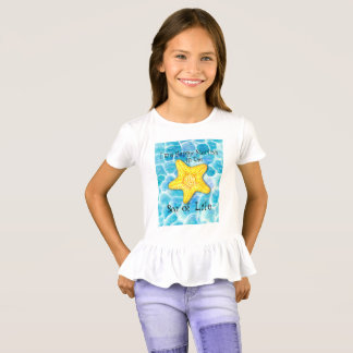 "Starfish im Ozean ""Meer des Lebens "" T-Shirt"