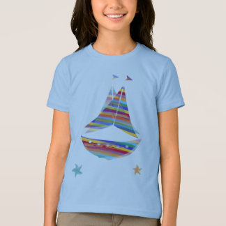 Starfish-Segel-Boots-T-Shirt T-Shirt