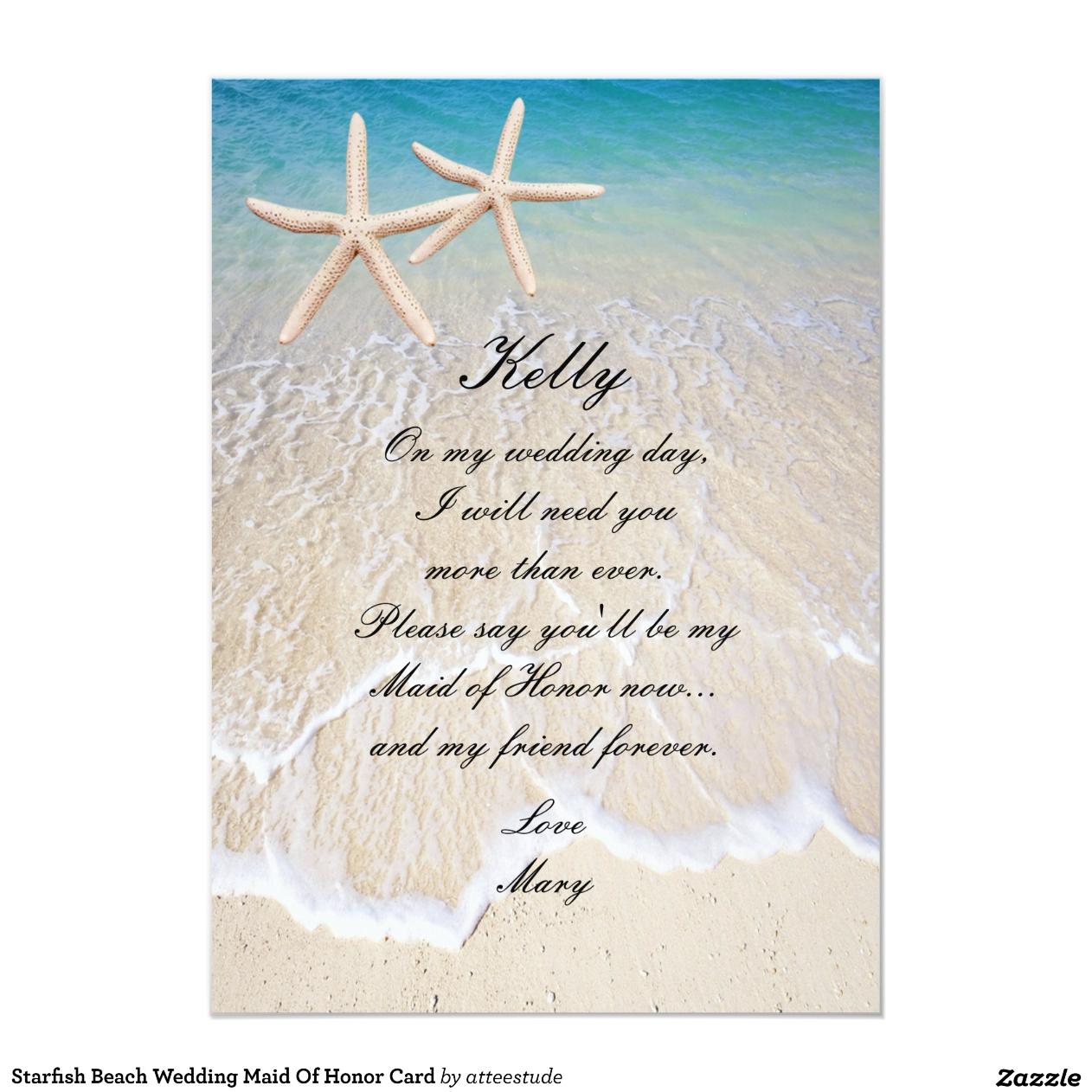 Strand-Hochzeits-Karte Box