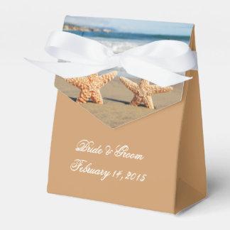 Starfish verbinden auf dem Strand-Gastgeschenk Geschenkschachteln
