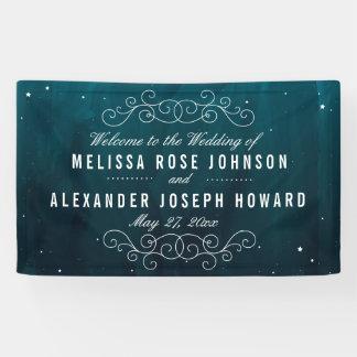 Stargazer-Hochzeit Banner