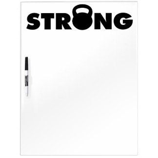 STARK - Kettlebell Workout motivierend Whiteboard