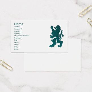 Starke Löwe-Visitenkarte Visitenkarte