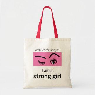 Starke Mädchen-Tasche Budget Stoffbeutel