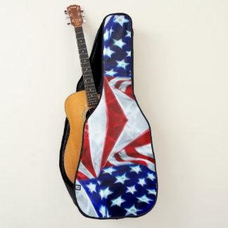 Starke Rockstar-Flagge-Gewohnheit Pro Gitarrentasche