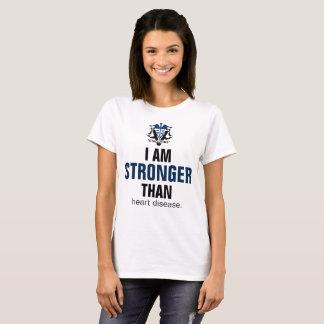 Stärker als Herz-Krankheit T-Shirt